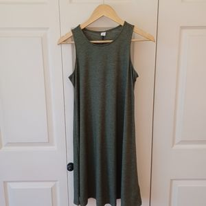 Old Navy Small Charcoal Gray Tank  Dress